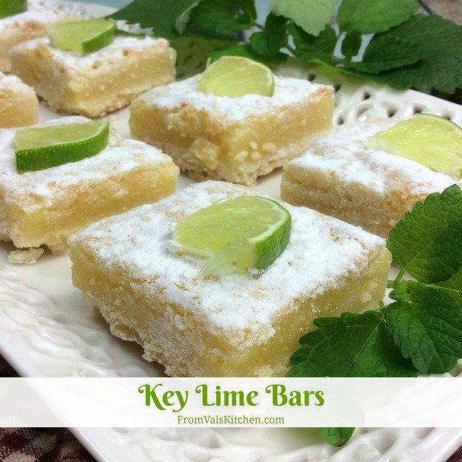 Key Lime Bars #Recipe