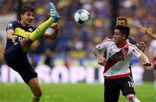"""#Riquelme: """"Hoy los jugadores no ven fútbol, ponen fotos paseando el perro"""" Sebas Driussi subió esta, por ejemplo"""