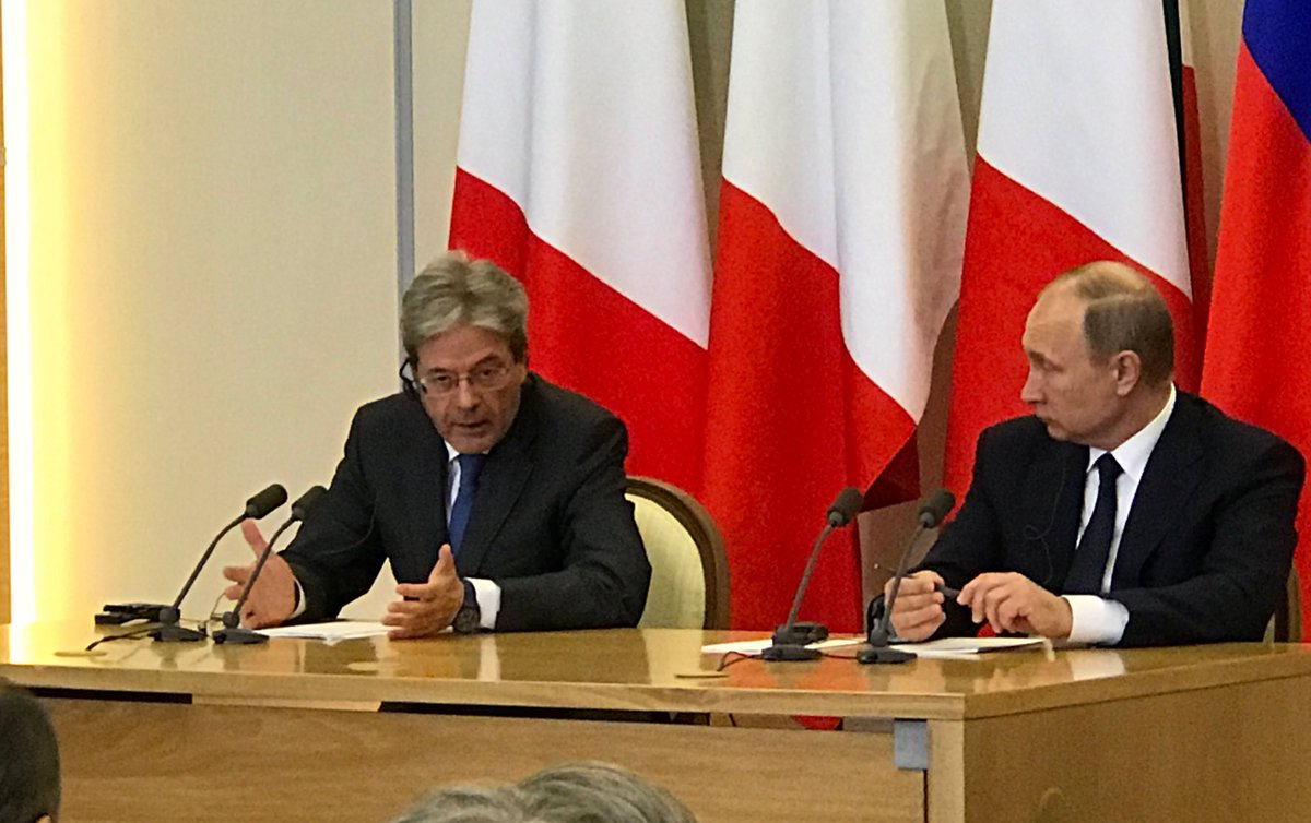 Gentiloni: the Ukrainian crisis is not overcome, but should not be any automatic renewal of sanctions. We believe in the implementation of the Minsk-2