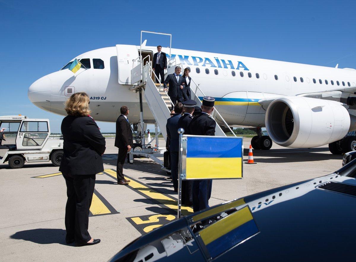 Порошенко прилетел в Страсбург на церемонию подписания решения о безвизе с ЕС - Цензор.НЕТ 9923