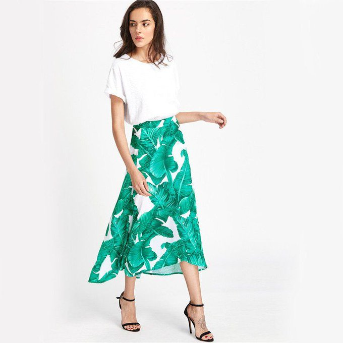 'Carly' Greece Skirt