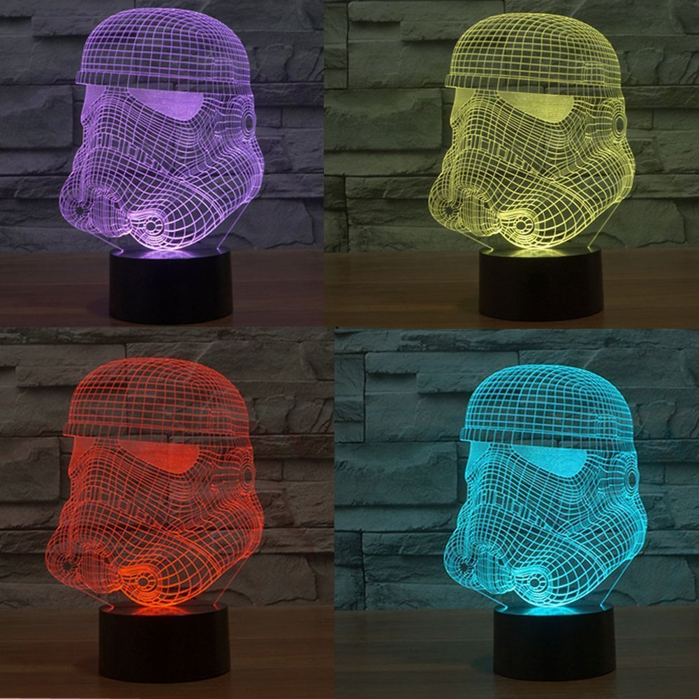 Cool #giftsideas SUAVER #Star Wars Stormtrooper 3D 7-Color Grad... by SmartEra®  http:// amzn.to/2qSlWmI  &nbsp;   via @amazon<br>http://pic.twitter.com/blXeIXfpp6