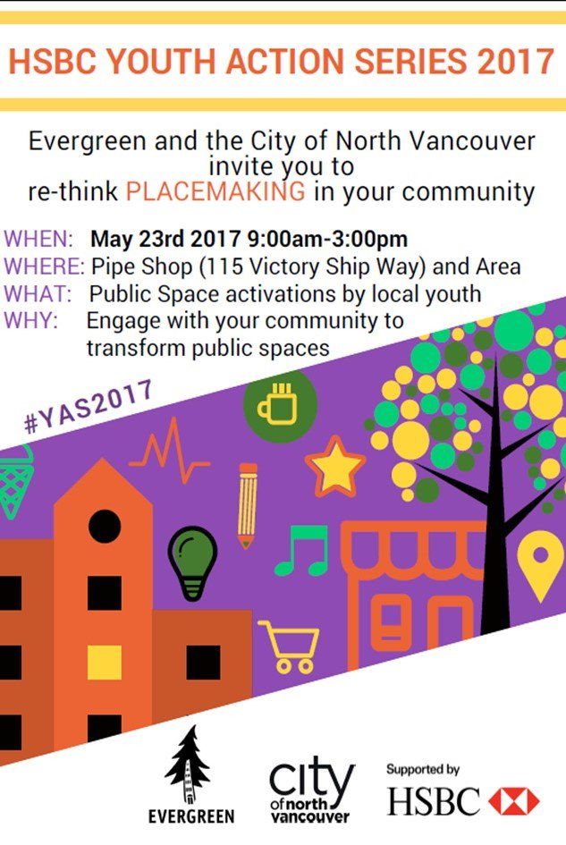 What do you want to see in your community? Youth will answer this question on May 23rd. #YAS2017 #lowerlonsdale @CityOfNorthVan @HSBC_CA https://t.co/ldkonW2F0x