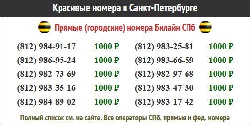 секстелефон номерами в г санкт-петербург