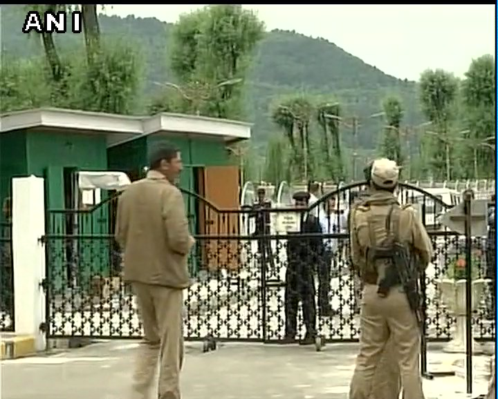 J&K: Security arrangements ahead of GST Council meeting on May 18 & 19, in Srinagar