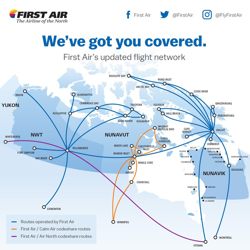 Cape Air Route Map on