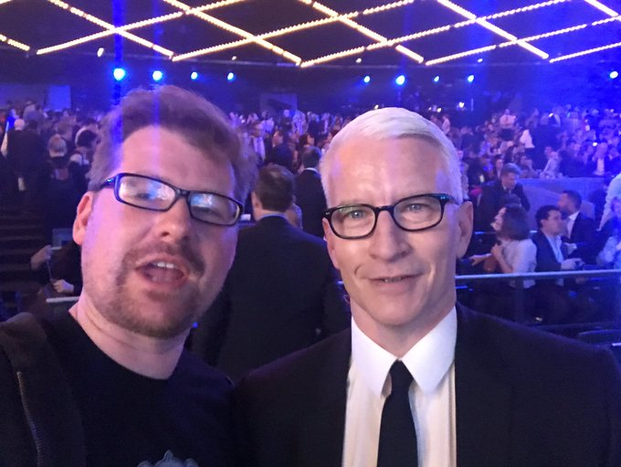 I'm also hanging out with @andersoncooper and we are now best friends. ARE YOU FUCKING JEALOUS?!