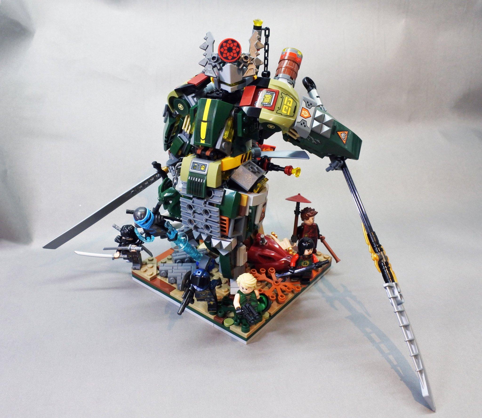 "dnielレゴラー on twitter ""新作 ω ninjago lego moc"