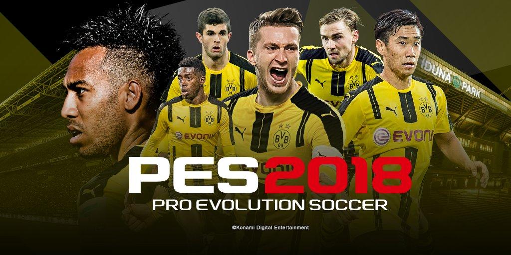 Bundesliga en PES 2018 no puede faltar