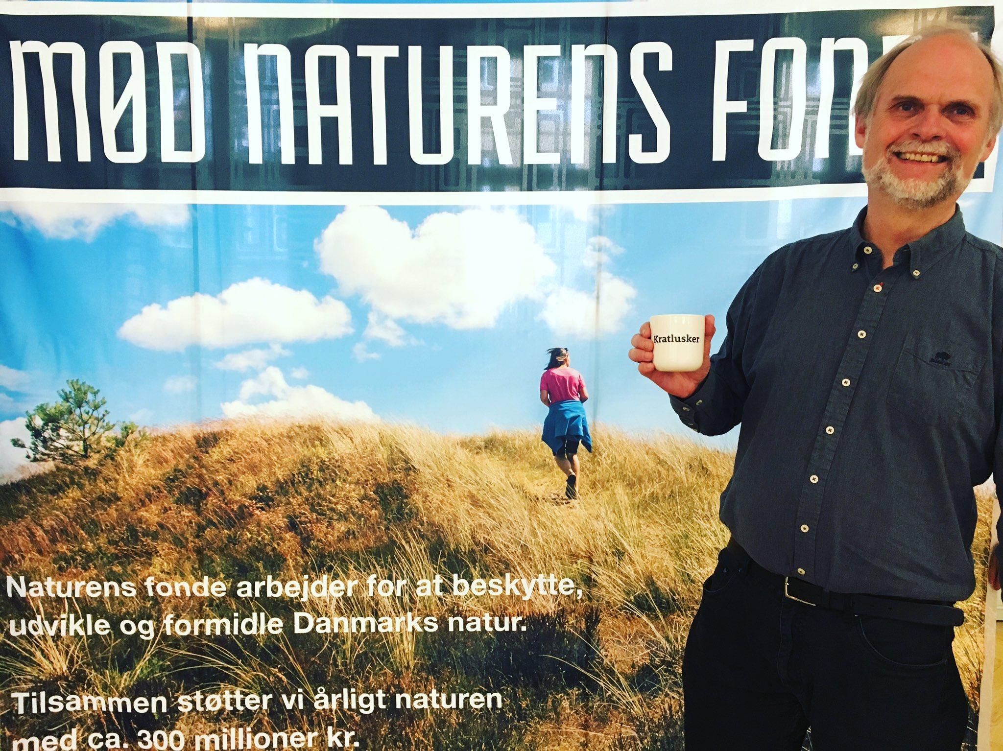 Mød os sammen med #NaturensFonde på @Naturmodet i Hirtshals torsdag-lørdag. Projektchef Frans Bach byder på både kaffe & dialog! #kratlusker https://t.co/wyo27cmZoM