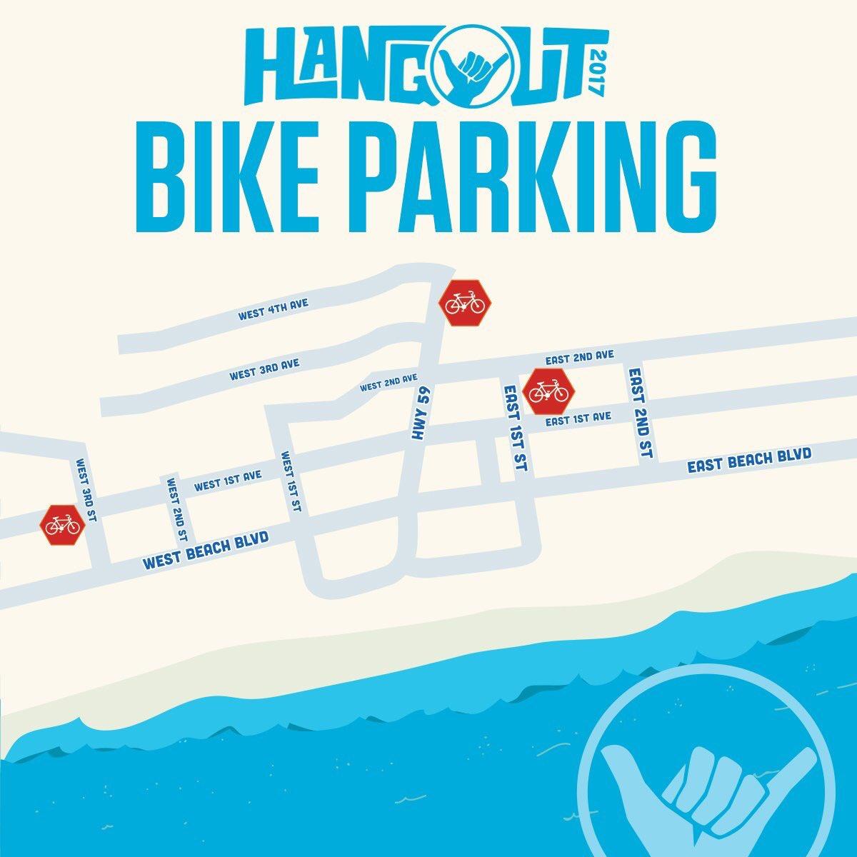 Hangout Bike Parking