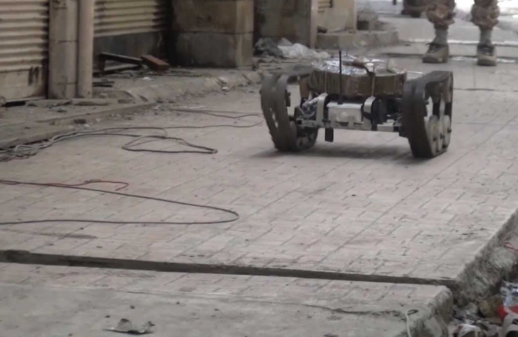 ISIS remotely controlled high caliber MG,plane and MANPADS