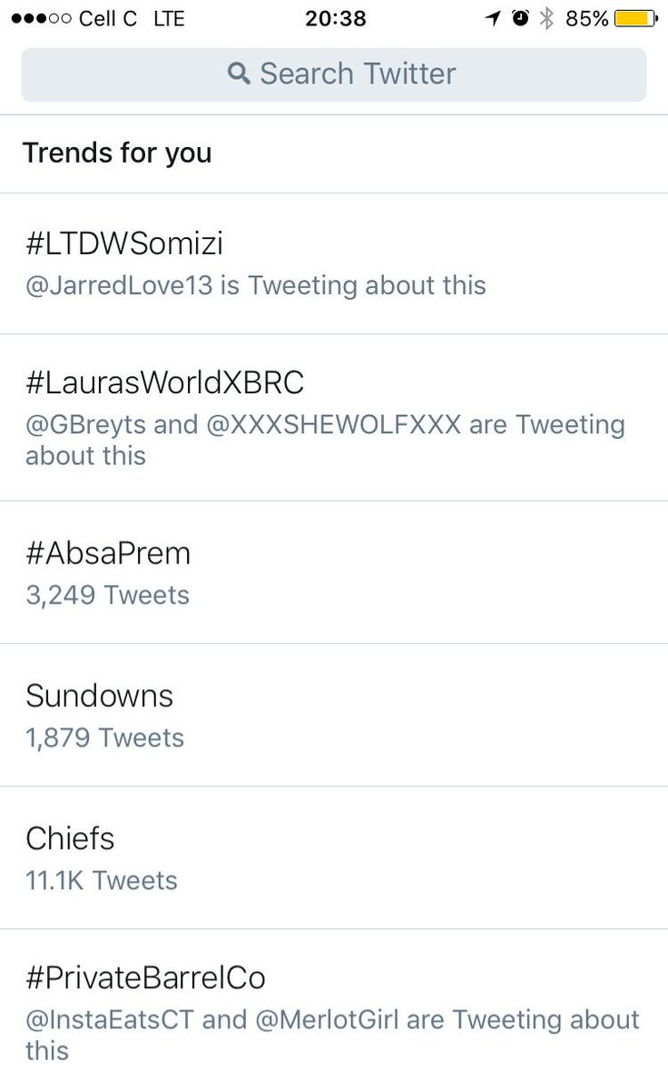 Wohoo... #LaurasWorldXBRC be trending at Nr. 2 🙌🏻💪🏼 BOOM!!!  @BRdCollection @ZomatoSA @LaurasWorldza https://t.co/HExSY2x7i3