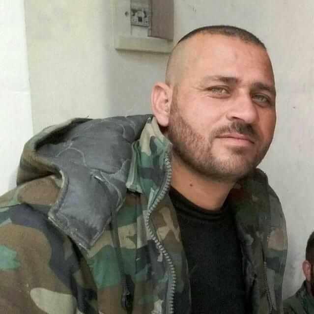 Some pro-government forces who were killed today in the battle against IS. One was a Tiger Forces' commander and one was a Hezbollah fighter, east Aleppo countryside, Syria.