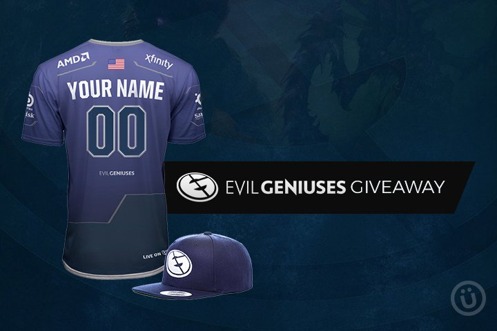 Want to win one of those new custom @EvilGeniuses jerseys?  Here's your chance