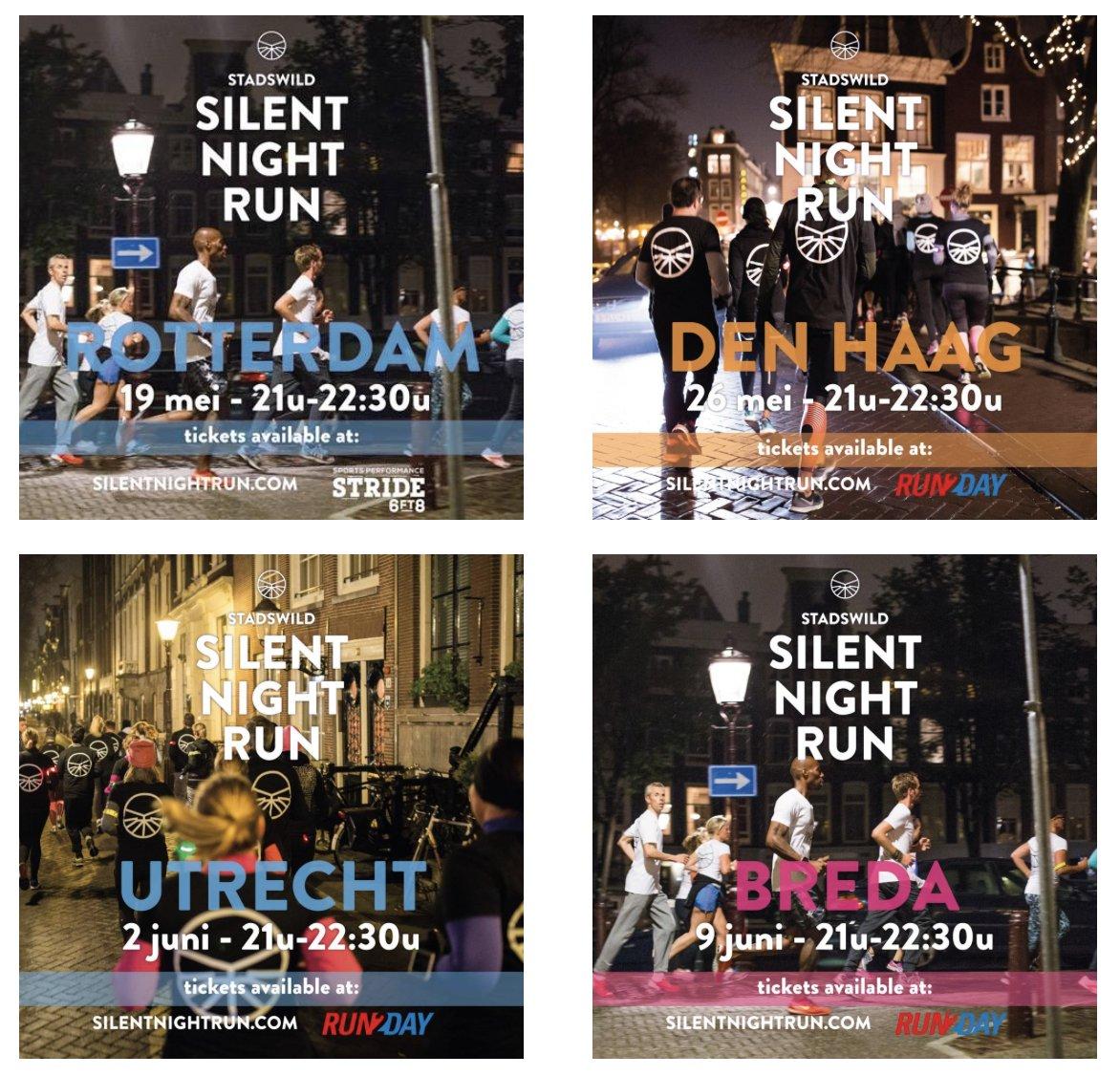 Jongens en meisjes #Rotterdam #DenHaag #Breda #Utrecht echt doen #silentnightrun @Stadswild https://t.co/PPLz42R5BJ