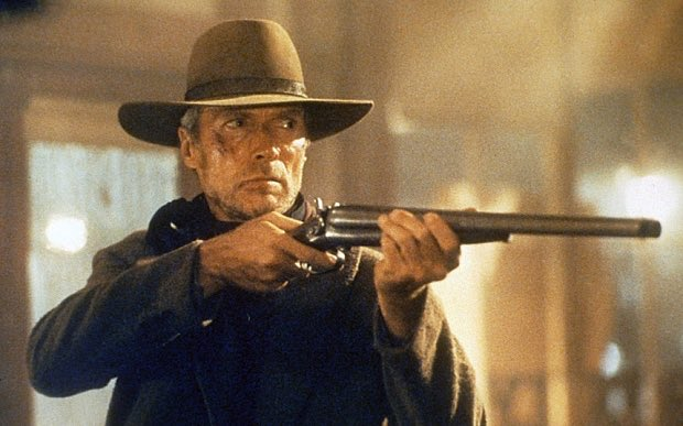 Taking some time out of politics to watch  #Unforgiven  #ClintEastwood<br>http://pic.twitter.com/55bPearZQB