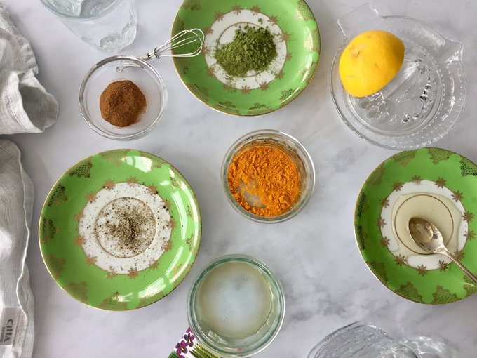 Easy, quick turmeric tea recipe