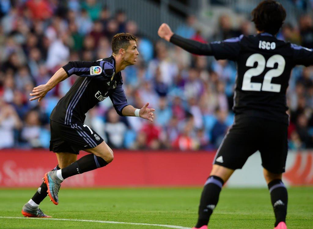 هدف ريال مدريد الثاني في مرمى سيلتا فيغو
