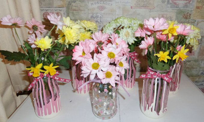 Last Minute Mothers Day or Easter Crafts, Quick and Easy