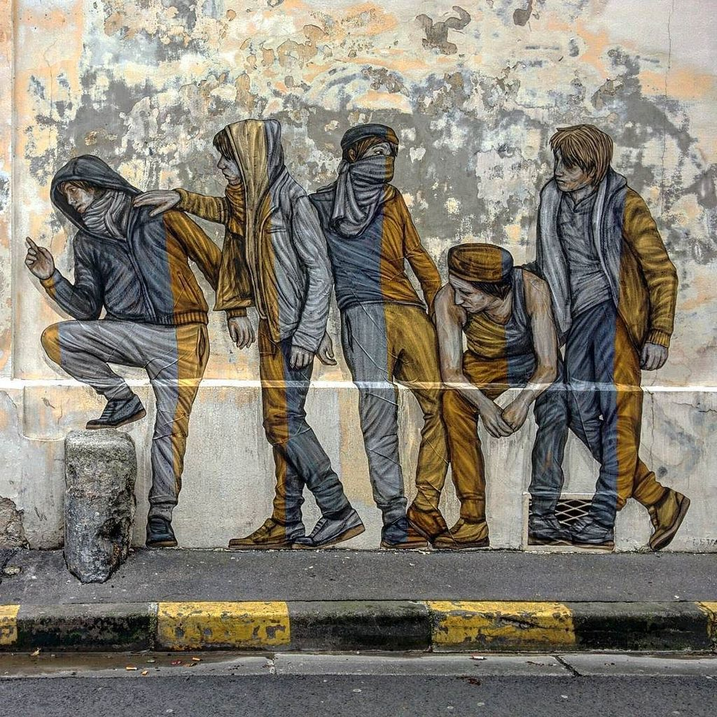 &quot;Integration&quot; #pasteup by @levaletdessinderue in the #streets of #reims #france  #urbanart #streetart #levalet #in…  http:// ift.tt/2pXyAvJ  &nbsp;  <br>http://pic.twitter.com/XSWajhzsbl