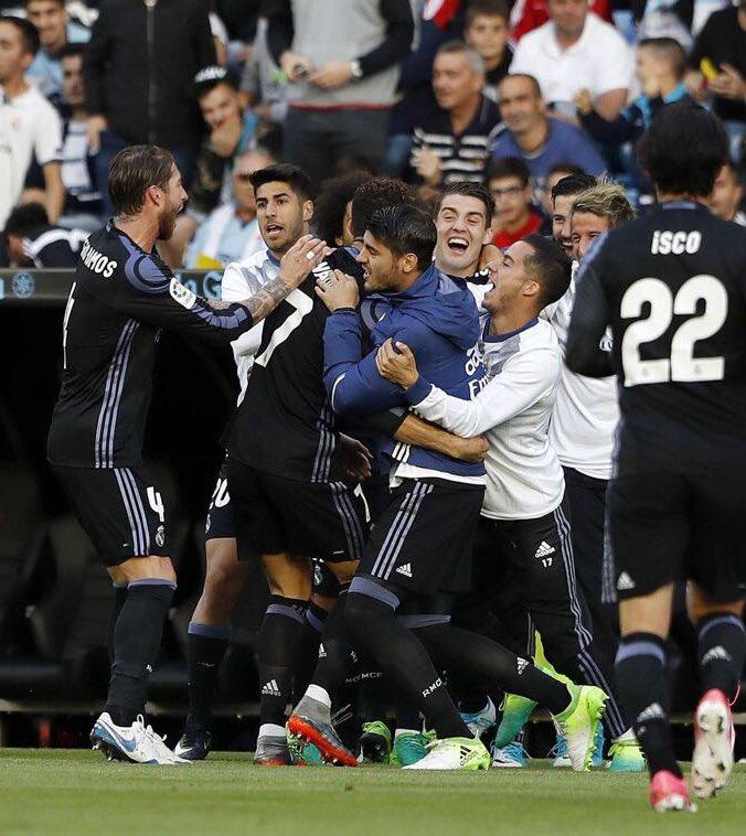 أهداف مباراة سيلتا فيغو وريال مدريد