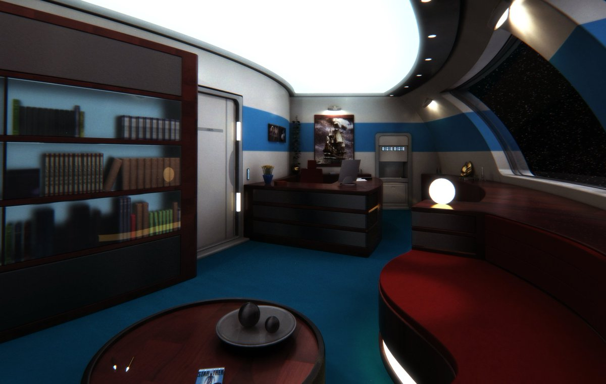 Mark Rademaker On Twitter 2008 Ready Room The USS Batavia Refitted Nova Class For Fan Trek Tco RIErl1kmDx