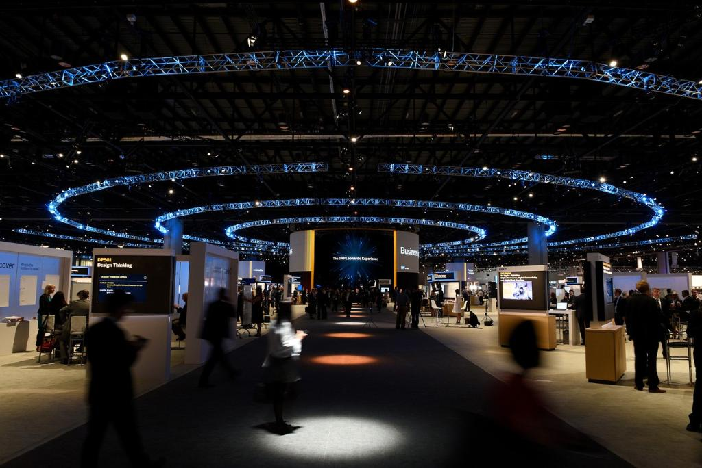 SAP unveils the intelligent enterprise with SAP Leonardo. #machinelearning. #SAPPHIRENOW https://t.co/wBwsz4XjYp https://t.co/W9HhTDHZ0N