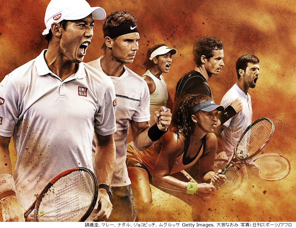 テニス wowow