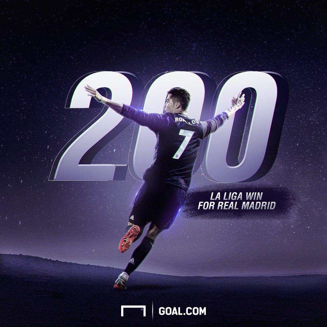 Beast! Cristiano Ronaldo 200th La Liga win for Real Madrid! #M9 #CR7 #RMCF<br>http://pic.twitter.com/YYOn21Yv14