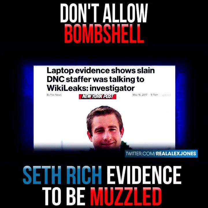 MSM Covers Up Murder of DNC Staffer #SethRich  #infowars
