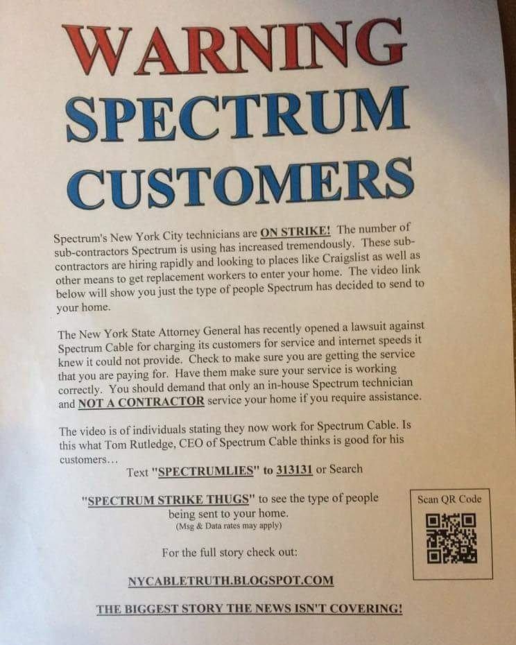 how does spectrum internet work