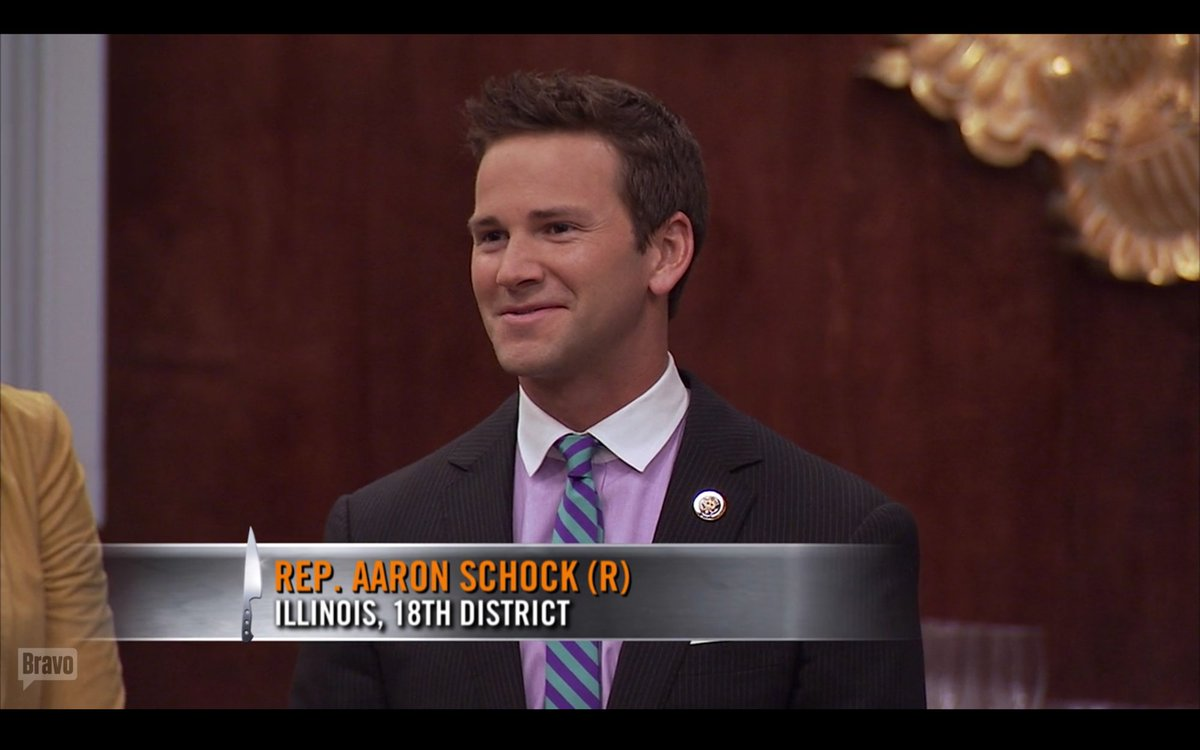 tfw you are watching Top Chef and AARON SCHOCK APPEARS, TALKING ABOUT ETHICS