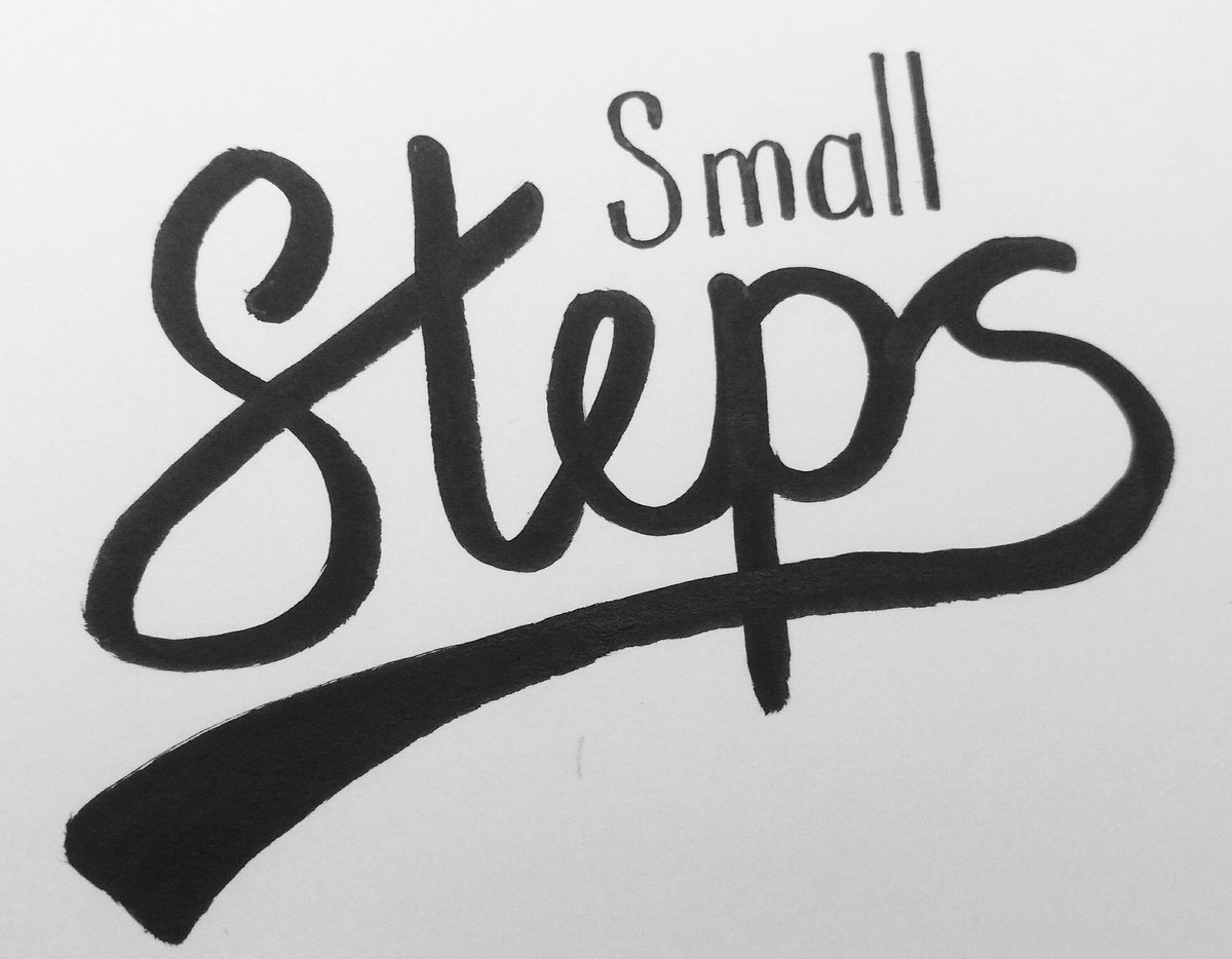 Small steps https://t.co/mQZSXGNi2l