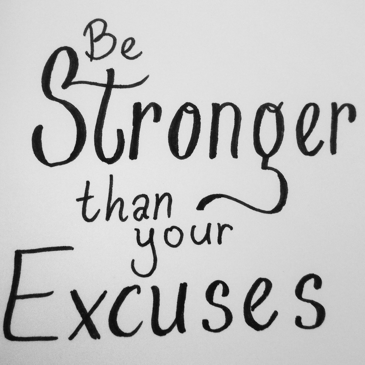 Be stronger than your excuses https://t.co/JhJkl8HyDt