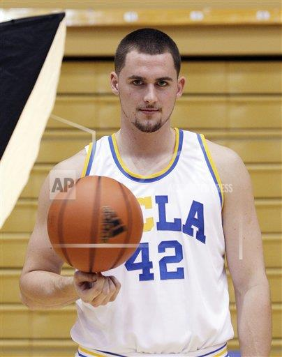 Freshman Kevin Love at UCLA. #NeverForget