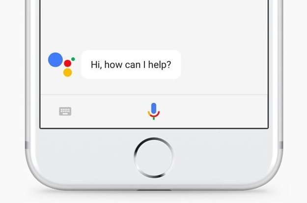 Google 39 s voice enabled assistant comes to the iphone for Voice assistant italiano