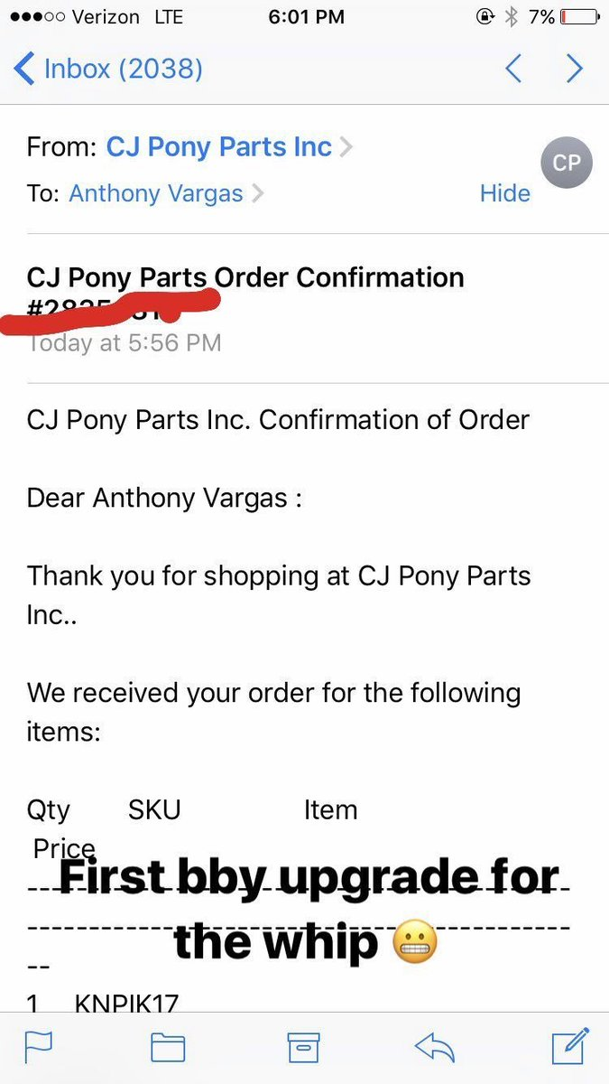 cjponyparts hashtag on Twitter