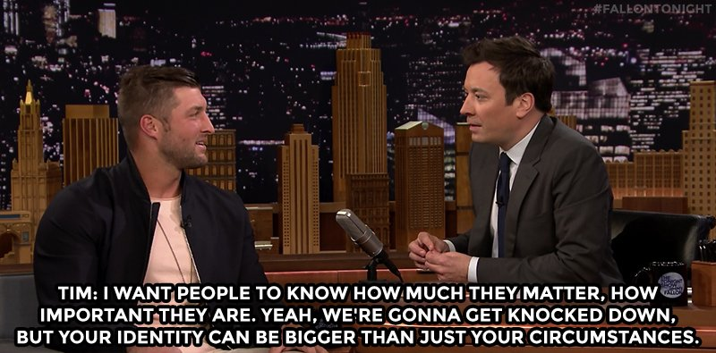 'You are special, you are important, and you matter.' #FallonTonight h...