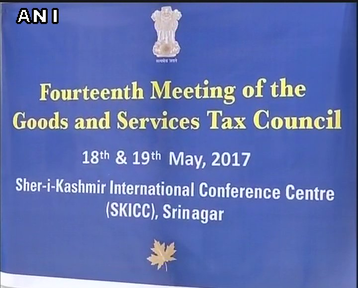 J&K: 14th GST Council meet to begin at Sher-i-Kashmir International Conference Centre, in Srinagar, today