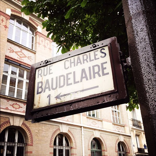 'Inspiration comes of working every day.'  📖Charles Baudelaire. 📷Rue Charles-Baudelaire, Paris, France by Fotologic.
