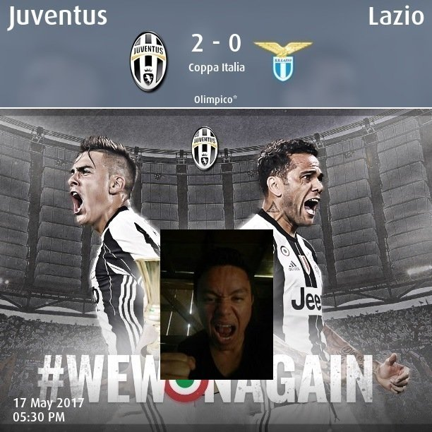 Congrats @juventusfc for the #TIMCup! See how fans celebrated with social selfies and the official app!   http://www. tok.tv/juventus-app/  &nbsp;   #JuveLazio<br>http://pic.twitter.com/2u6SuXEQuQ