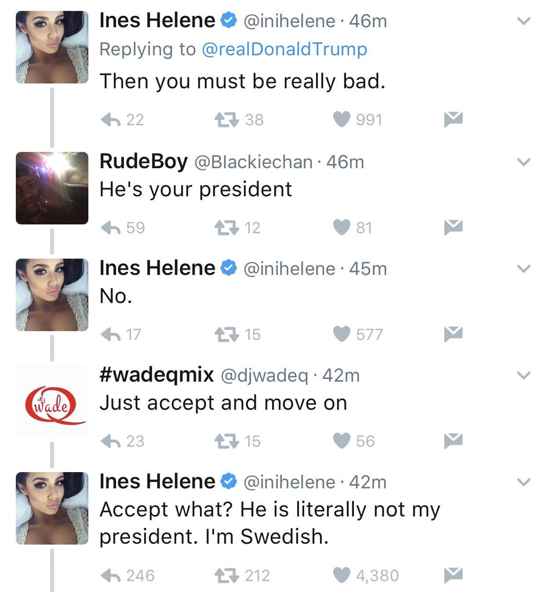 the replies to trump tweets make it all worth it