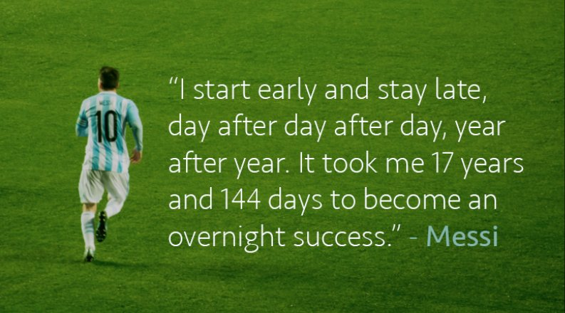 &quot;I start early and stay late...&quot;  #ThursdayThoughts #Messi <br>http://pic.twitter.com/NAXM7aPECY