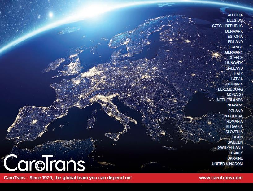 Spotlight on Europe - U.S. service network:  90+ LCL/FCL weekly services - all direct. #LCL #FCL   Learn more:   http://www. carotrans.com  &nbsp;  <br>http://pic.twitter.com/C8oK6Q9X28