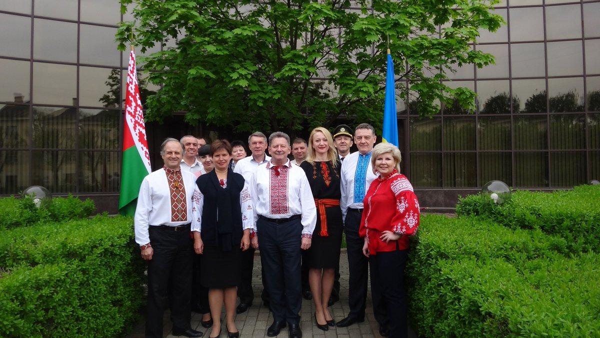 Посольство України в Республіці Білорусь на своїй сторінці в Twitter  виклало
