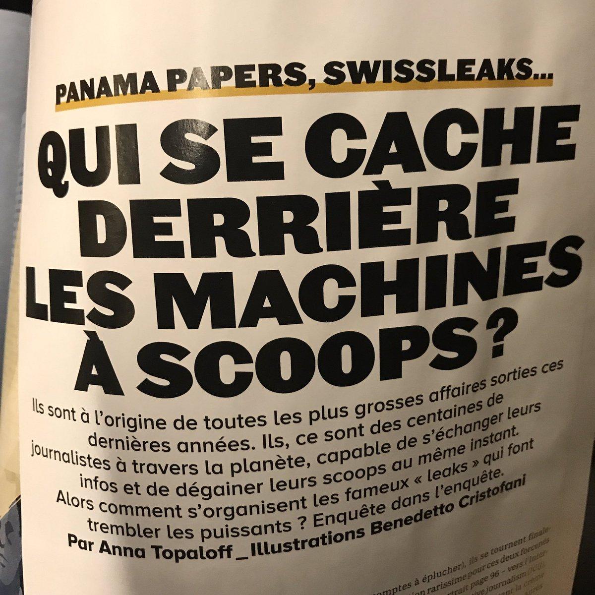 Intéressante enquête dans @GQ_France sur les 'machines à scoops'. Accompagnée d'un portrait croisé de Davet et L'homme.