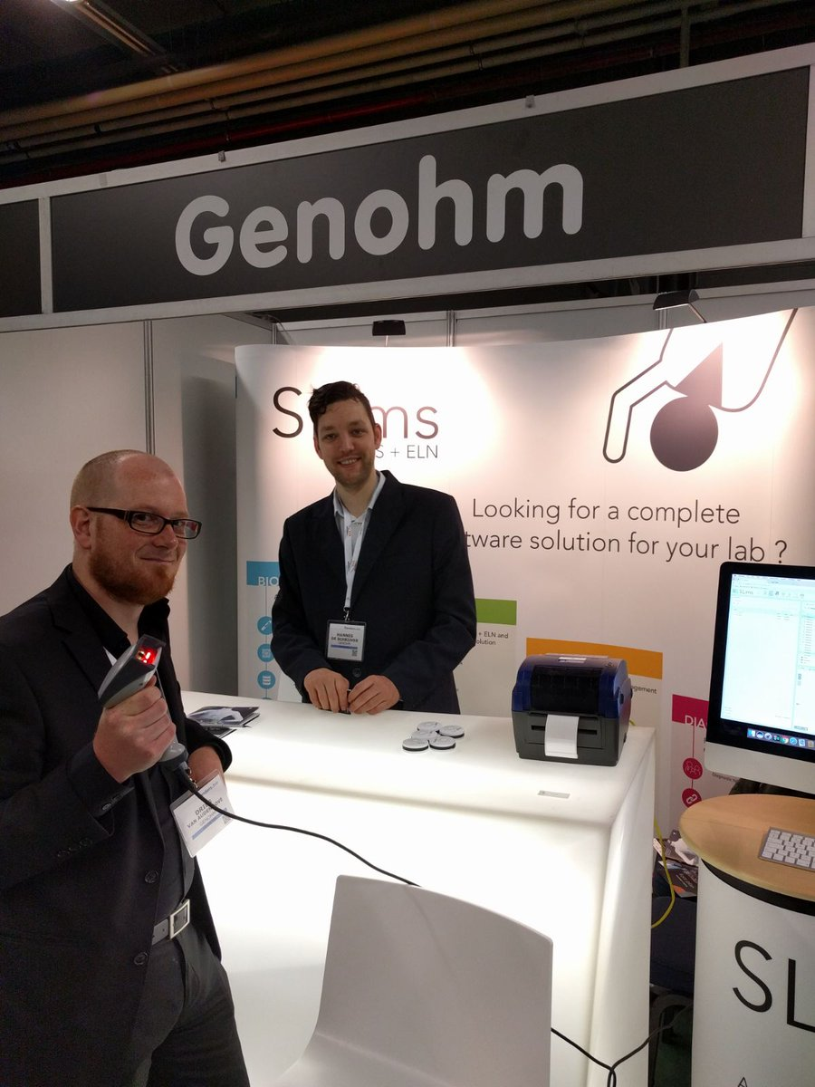 We are live at #KFG2017! Booth #62! Dries and Hannes are there to give you a #SLims demo, don&#39;t hesitate.... <br>http://pic.twitter.com/1cKLsvY0vT