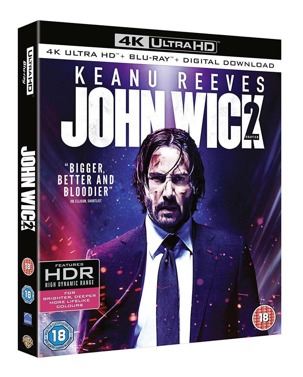 Ultra Hd Blu Ray On Twitter John Wick Chapter 2 4k Ultra Hd Blu
