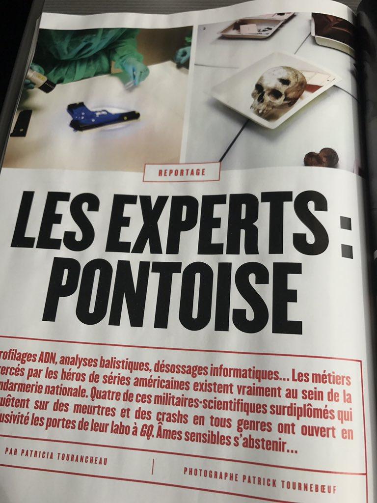 @GQ_France Autre épatant reportage dans @GQ_France  ce mois-ci :  'Les experts : Pontoise ' pa @Patourancheaur  et Patrick Tourneboeuf. https://t.